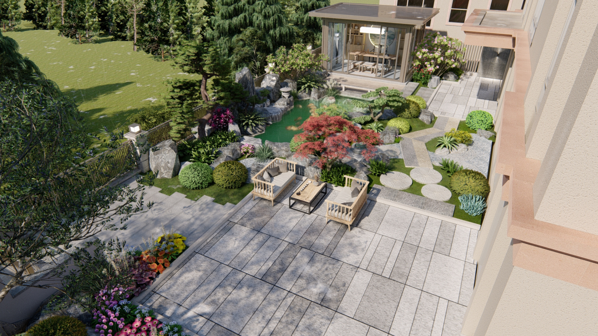 中山别墅景观设计